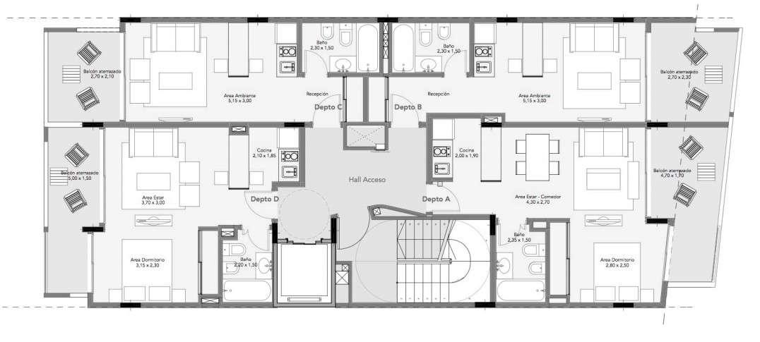 Modelle adef ingrese obtenga m s informaci n y haga su for Edificio de departamentos planos