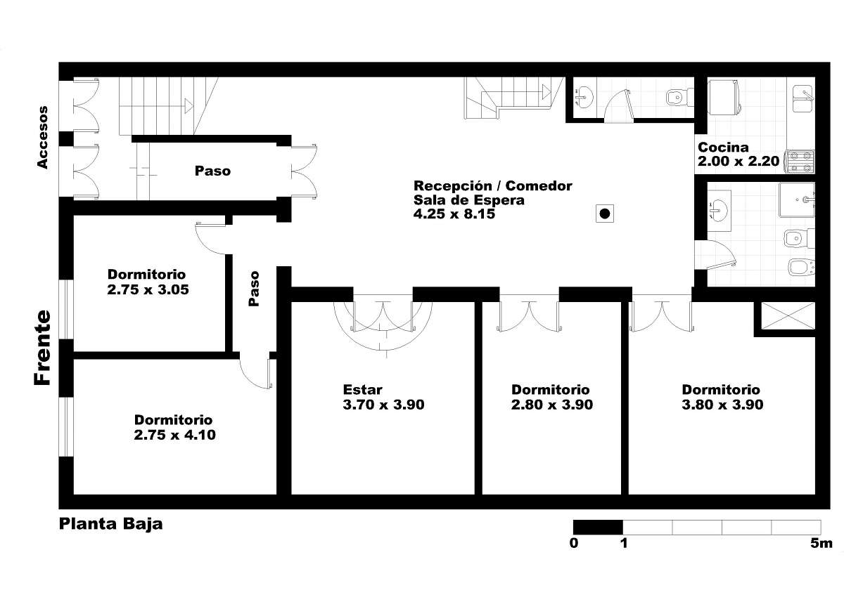 San telmo humberto i 818 820 edificio en block en venta for Casa de diseno san telmo